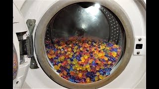 Experiment - 10000 Orbeez - in a Wa...