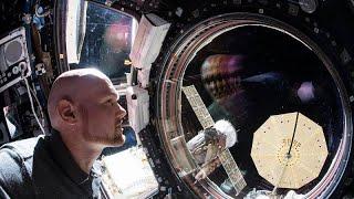German astronaut Alexander Gerst passes ISS command to Oleg Kononenko