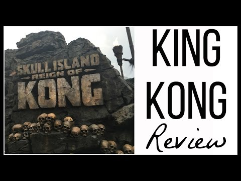 Skull Island Reign of King Kong Ride Review
