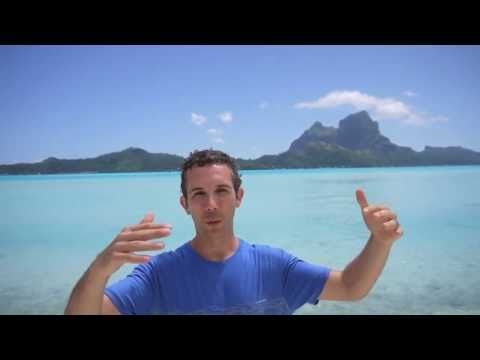 Island Week - Bora Bora, Polynesia Raw Vegan Travel (Raw Vegan Show #62)