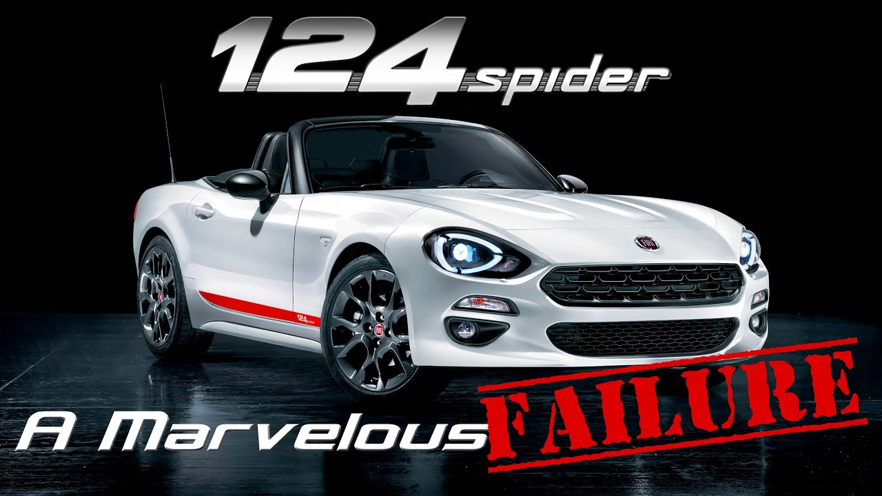 Gone Too Soon: Fiat 124 Spider