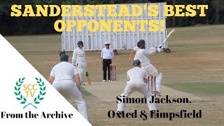 SANDERSTEAD'S BEST OPPOSITION PLAYERS: Simon Jackson, Oxted & Limpsfield (and Jamaica!)