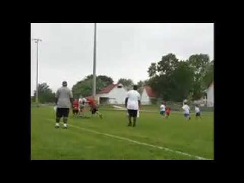 Dwight Freeney Football Camp, Zionsville 2010