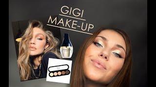 Как сделать макияж Gigi Hadid тенями Color me и Atelier Paris