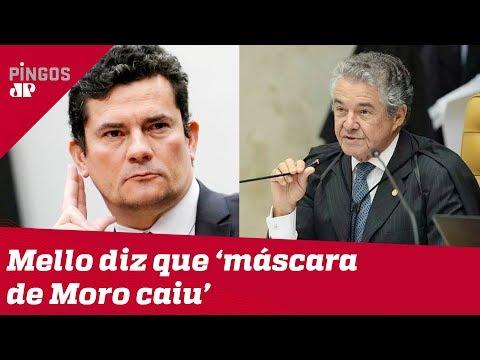 Marco Aurélio não quer Moro na sua vaga no STF