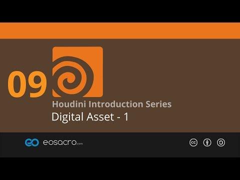 Houdini Intro - 09 - Digital Asset - 1