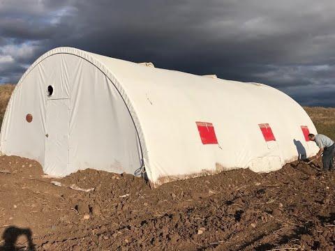 Salma Tavukçuluk Ve Koyunculuk Aylık Getirisi Nedir? 70 M2 çadır Kurulumu Yaptırıyoruz