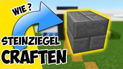 Minecraft Steinziegel Craften | wie stellt man in Minecraft Steinziegel her ?