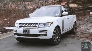 Range Rover - Inside Beauty - Land Rover Flatirons