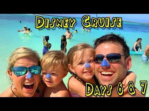 Swimming in THE BAHAMAS! Disney Cruise at Castaway Cay 🚢