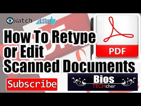How To Edit Scanned Documents In Easy Way TAGALOG VERSION