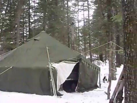 & my 10 Man Arctic Tent - YouTube