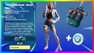 NEW STARTER PACK in the GAME! HOW TO GET IT?! | Fortnite