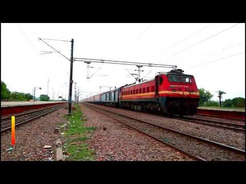 very high speed 12398 mahabodhi express hits at 130 kmph/-