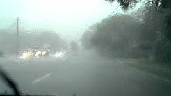 Torrential rain in Jacksonville, FL