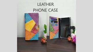 [Leather Craft] 가죽공예 핸드폰 케이스 만…
