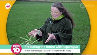 Woman Who Predicts The Future With Asparagus | Studio 10