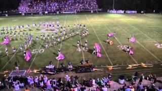 John S. Battle High School Trojan Marching Band - Game 1 2014