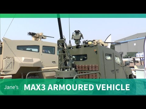 SVI launches its new Max3 armoured vehicle (AAD 2018)