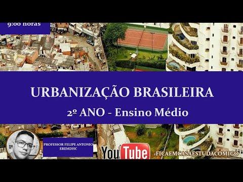 urbanizaÇÃo-brasileira---2º-ano