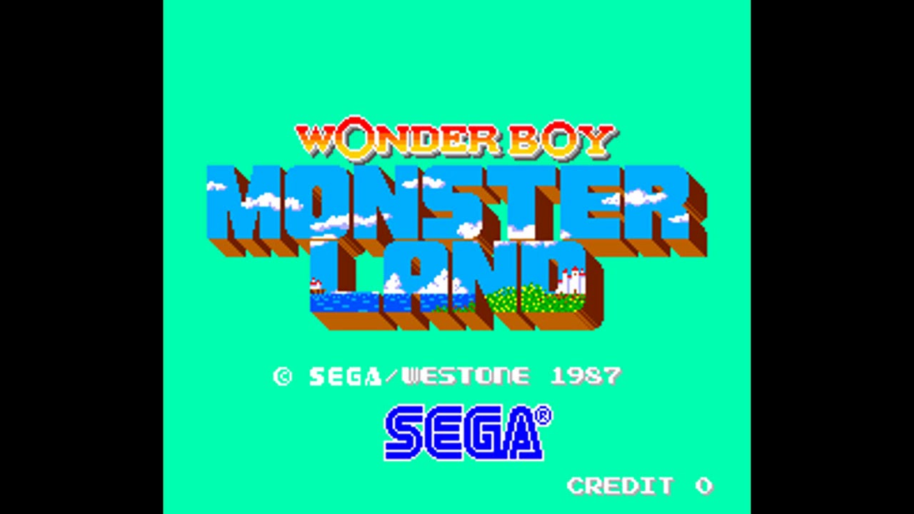 Wonder Boy Monster Land (Arcade): Metal Dragon music ( EarthBound soundfont  )
