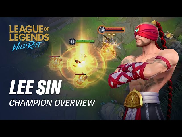 Lee Sin Champion Overview | Gameplay - League of Legends: Wild Rift