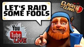 WAR ATTACKS AND FARMING! TH11 / TH9 Farming, Base reviews, FC? Clash of Clans Live Stream #33