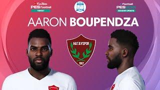 PES 2021 Aaron Boupendza Face Hatayspor PES 2020