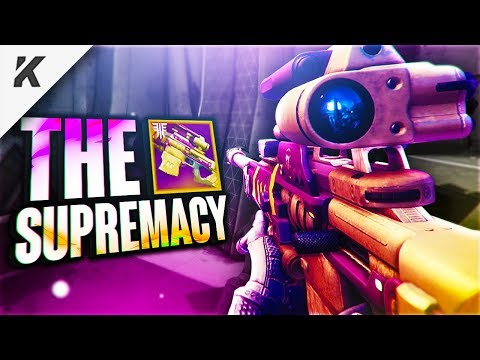 the SUPREMACY SNIPER RETURNS to Destiny 2 Forsaken! (it's unbelievably good)