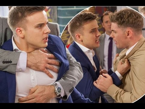 Harry Thompson lashes out at Ste Hay as he finds out about affair with John Paul McQueen