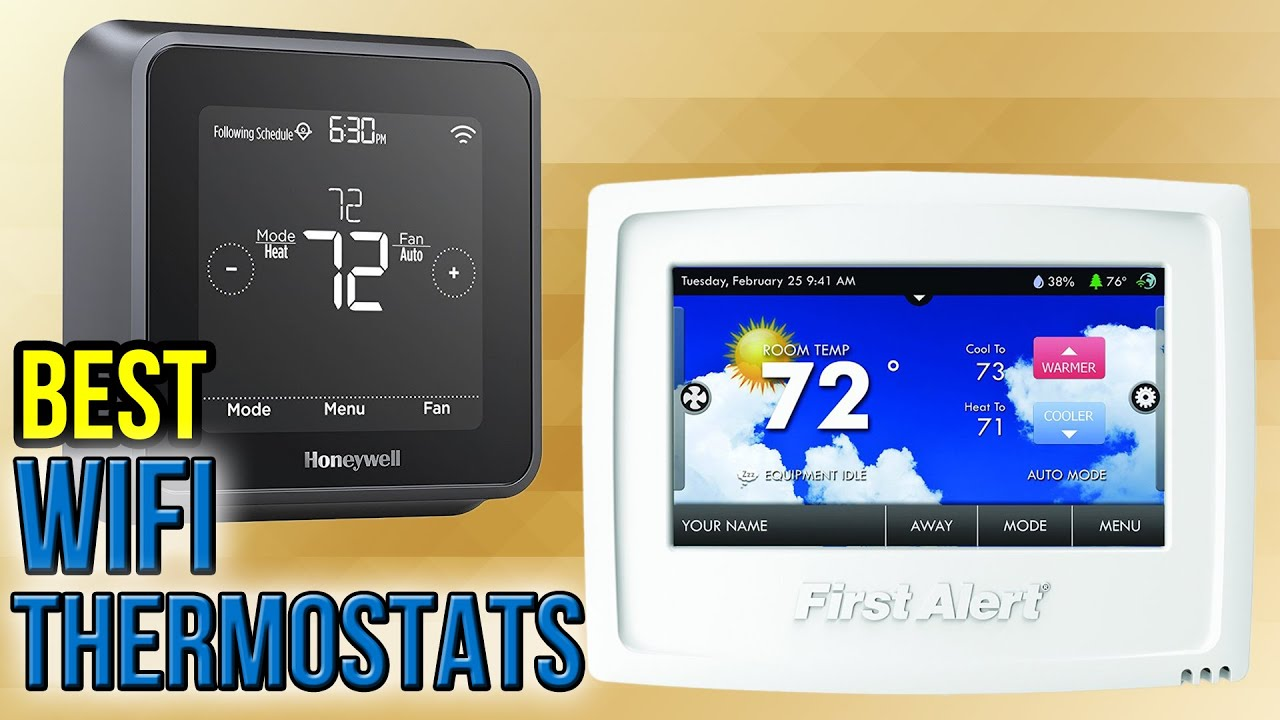 Honeywell Rth9580wf Youtube 2000 Hayabusa Wiring Diagram 10 Best Wifi Thermostats 2017
