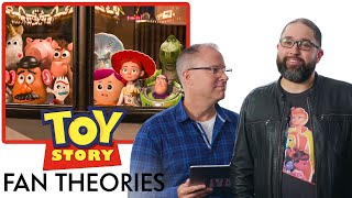 Toy Story Creators Break Down Fan Theories From Reddit | Vanity Fair