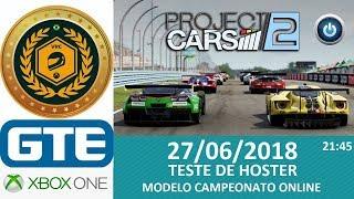 2º Campeonato VRC 2018 - Categoria GTE - Teste de Hoster