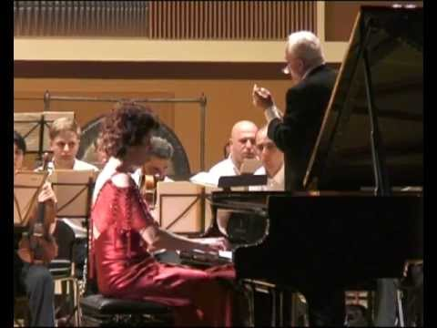 Shorena Tsintsabadze plays Ravel Concerto in G 1Mov-Kadenz