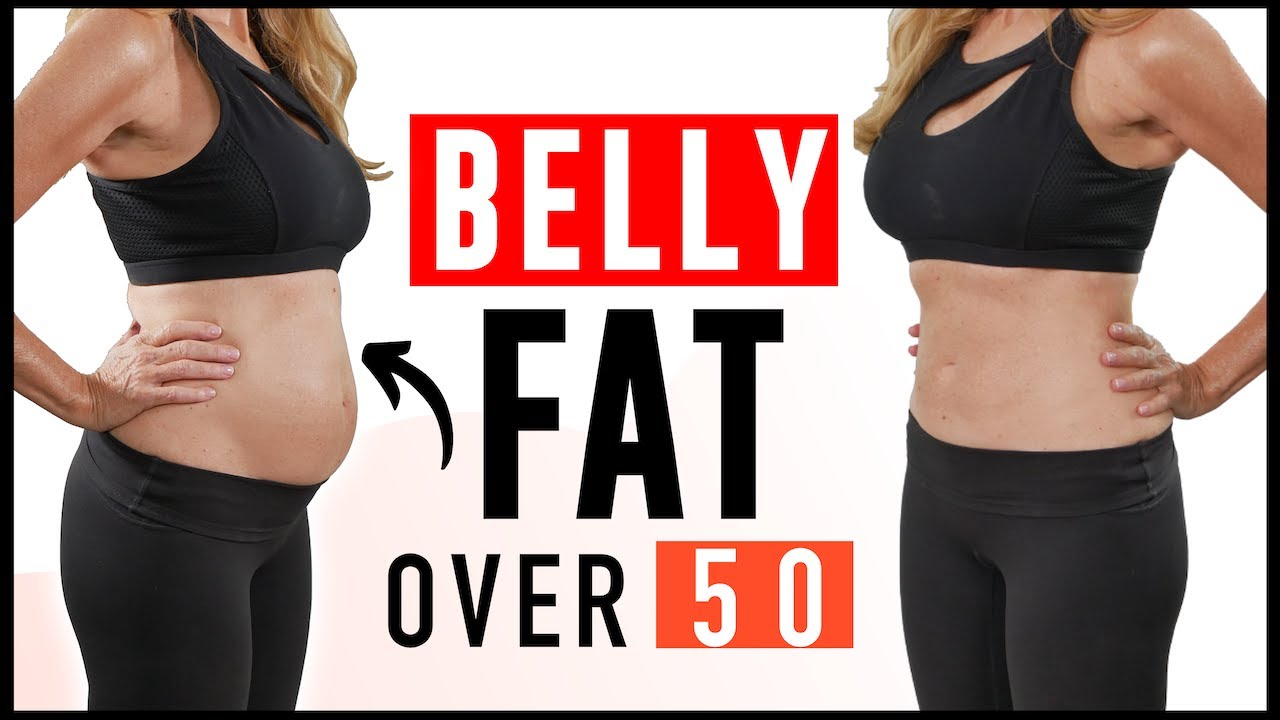 How To Lose Belly Fat For Women Over 50 | fabulous50s