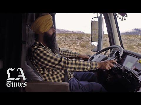 Sikh Drivers Are Transforming U.S. Trucking. Take A Ride Along The Punjabi American Highway