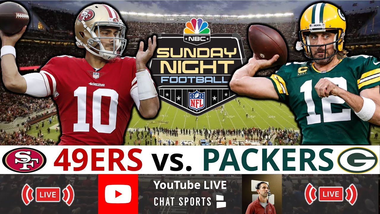 Download 49ers vs Packers SNF Live Streaming Scoreboard, Play-By-Play, Highlights, Updates, Stats  NFL Week 3