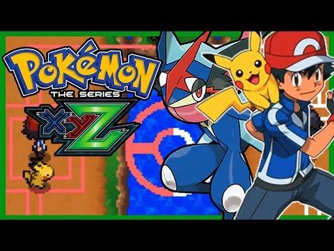 Pokemon XYZ Final Battle Pokemon Fan Game Showcase