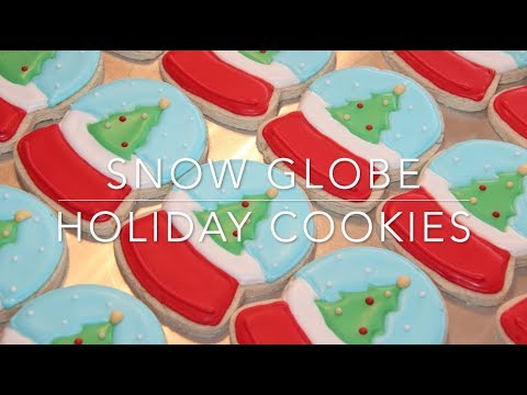 Snow Globe Holiday Cookies