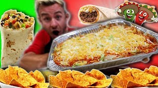THE MONSTER ENCHILADA CHALLENGE! (8,000+ CALORIES)