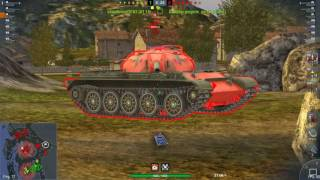 World Of Tanks Blitz Game Play (T54) To Day v3.7.0