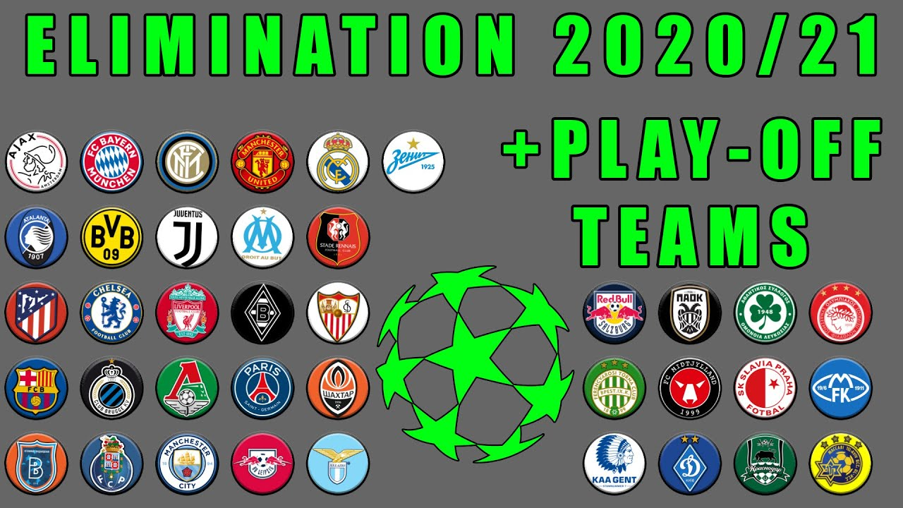 UEFA Champions League 2020/21 Predictions Elimination Marble Race in Algodoo / Marble Race King