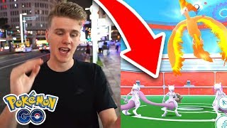 THE MOST MEWTWO IN A LEGENDARY RAID EVER?! (Pokemon Go)