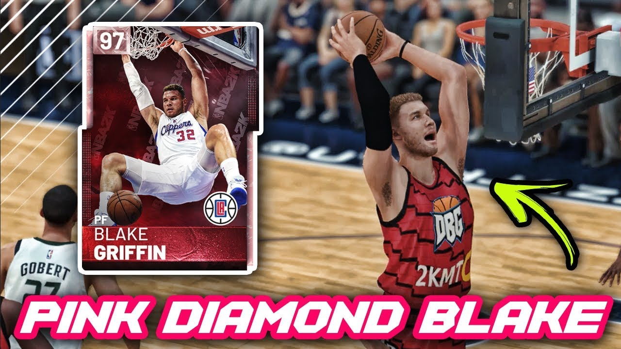 d901d986f NBA 2K19 PINK DIAMOND BLAKE GRIFFIN IS UNSTOPPABLE!!