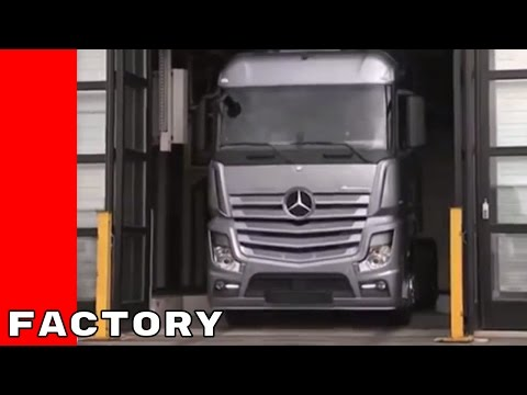 Mercedes Actros Production Factory Plant