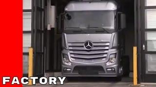 Mercedes Actros Production Factory Plant