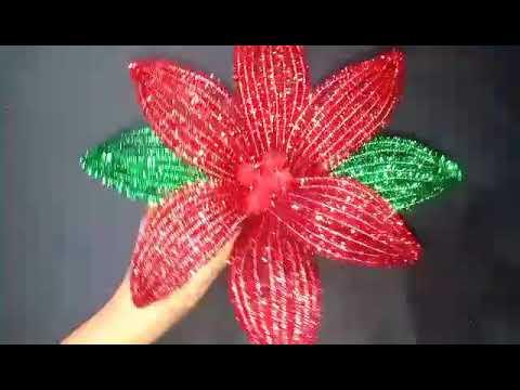 Flor De Limpiapipas Facil De Hacer Manualidades Adasha Doovi