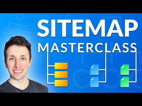 SITEMAP MASTERCLASS: Planning a Site Map UI:UX Design for a Website