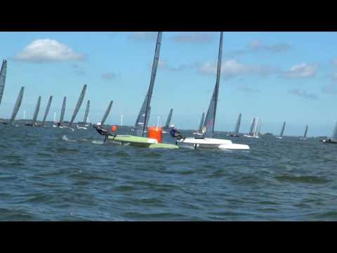 2016 Magic Marine A Cat Worlds   The Netherlands   Manoeuvre Supercut