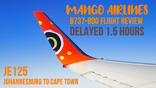Mango Airlines Flight Review Budget Airline Johannesburg To Cape Town Jnb Cpt Delayed Flight Youtube